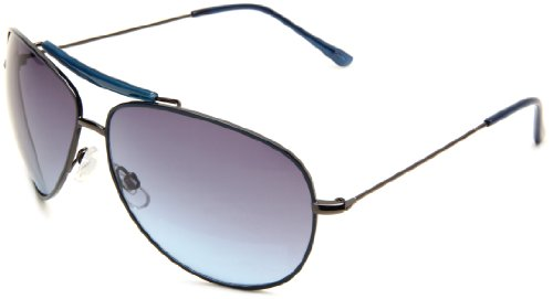 union-bay-mens-u864-gunmetal-aviator-gun-frame-blue-gradient-lens-one-size