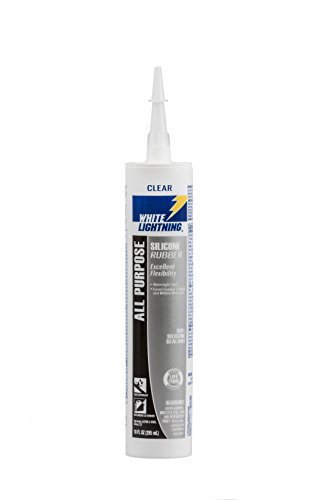 21010 Silicone Rubber All Purpose Sealant, Clear, 10 ounce (All Purpose Silicone Rubber)