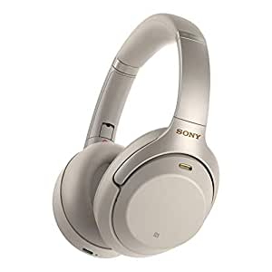 Sony WH-1000XM3 Wireless Bluetooth Noise Cancelling Headphones - Silver (Pack of 1)