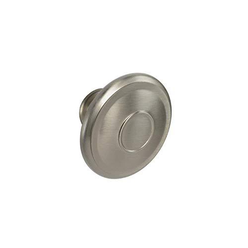 Brainerd #P24428W-SN-CP - 1-3/4 in. (44.5mm) Jackson Round Cabinet Knob - Satin Nickel - 10 Pack