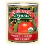 Muir Glen Organic Whole Peeled Tomato, 102 Ounce -- 6 per case.