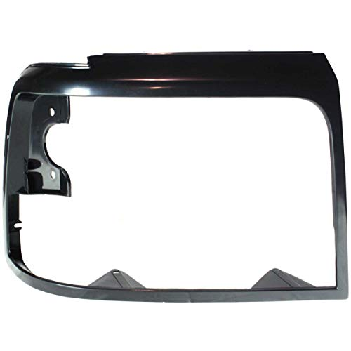 New Head light Headlight Door Headlamp Bezel Passenger Right Side Black RH F-150
