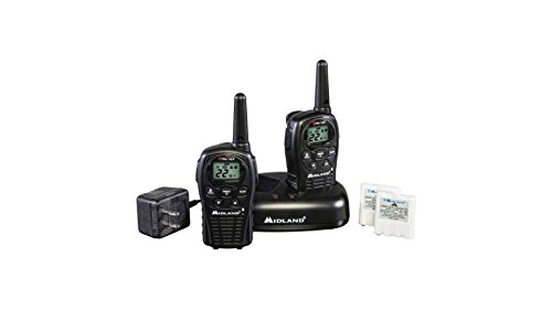 2-Way Radio with 22 Channels GMRS Value Pack, Black by Midland*
