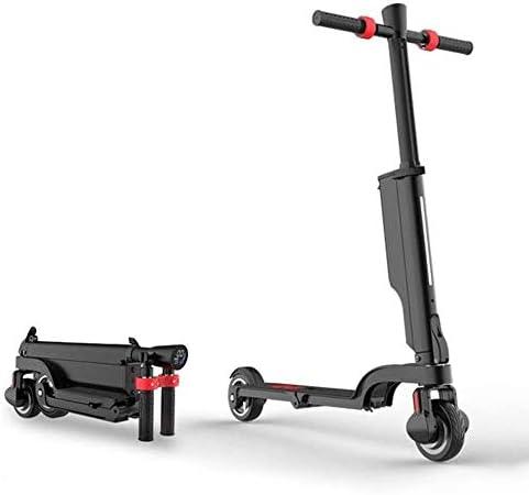 """電動スクーター - 250Wモーター通勤や旅行のためのワンステップはフォールド8.5"""" ソリッドタイヤアップ、大人電動スクーター、アルミ合金ボディ、敏感ブレーキ"""