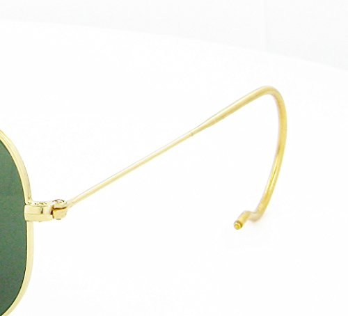 Gold Replacement Temples (arms) Ray-ban Rb 3030 Authentic +ShadesDaddy - 3030 Rb