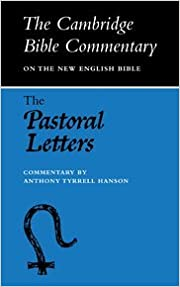 Book CBC: Pastoral Letters: Commentary on the First and Second Letters to Timothy and the Letter to Titus