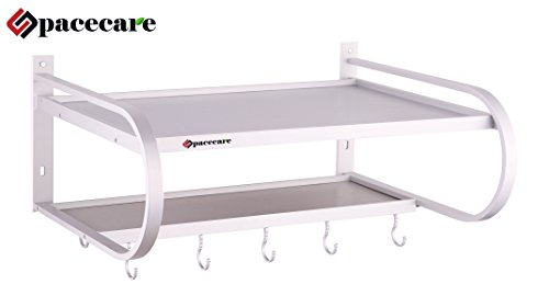 Spacecare Double Bracket Aluminum Microwave Oven Wall
