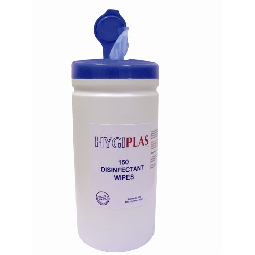 Hygiplas CC197 Surface Disinfectant Wipes