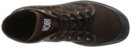 Box Marron Donna No Pantofole Galia Da leopard Brown Marrone braun U0nRdq