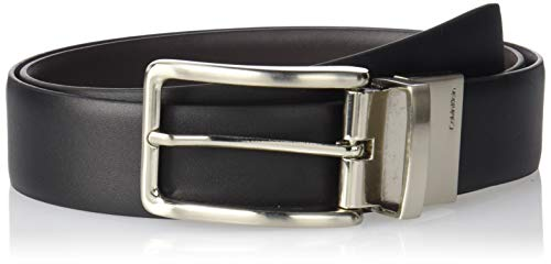 Calvin Klein Men's Reversible Feather Edge Strap Belt