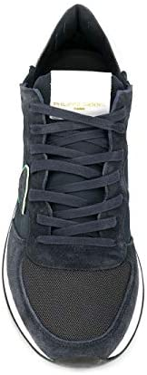 Philippe Model Luxury Fashion Homme TZLUW012 Bleu Baskets | Automne_Hiver