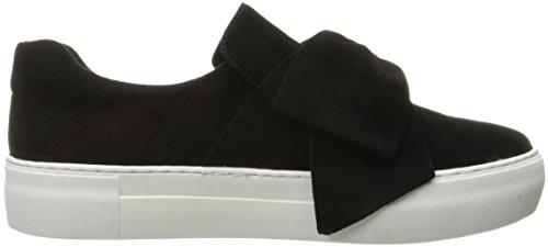J Slides Jslides Mujeres Beauty Fashion Sneaker Black Suede