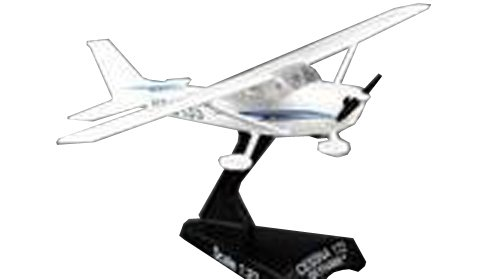 Daron Worldwide Trading Postage Stamp PS5603-2 Cessna 172 SkyHawk 1:87 Diecast Display Model (Teaching For Model Airplane)