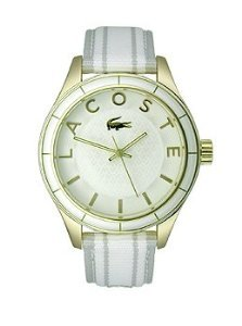 Lacoste Sydney White/Grey Grosgrain Women's watch #2000771