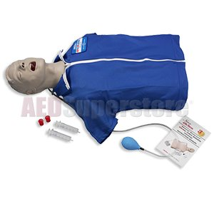 Advanced ?Airway Larry'' Torso with Defibrillation Features by Nasco