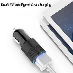 iPhone Car Charger, 3.1A Rapid Dual Port USB Car Charger + Lightning Cable Compatible iPhone X/8/8 Plus/7/6s/6s Plus 5S 5 5C SE,iPad More by UltraSealers (Image #6)