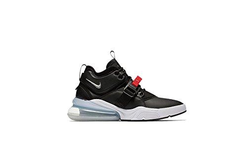 a423c0754 Galleon - NIKE Air Force 270 Men s Running Shoes Black Metallic Silver-White  AH6772-001 (11.5 D(M) US)