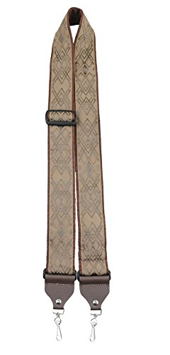 Perris Leathers TWSBJ-6687 Jacquard Banjo Straps by Perris Leathers