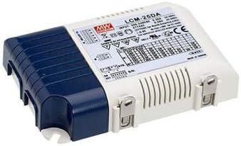 LED Power Supplies 25W 180-277Vin DALI 350-1050mA slct curr