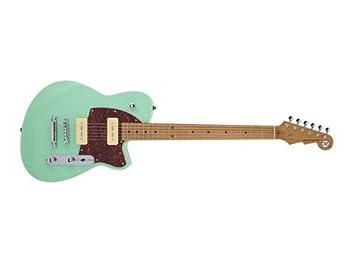 Reverend Charger 290 - Guitarra eléctrica (Oceanside verde): Amazon.es: Instrumentos musicales