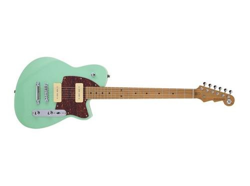 Reverend Charger 290 Electric Guitar (Oceanside Green), used for sale  Delivered anywhere in USA