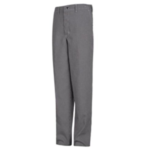 Red Kap Spun Poly Checked Cook Pant, Men, Black & White Check, - Checked Pants Chef