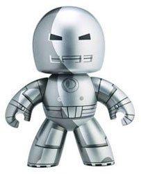 Hasbro Marvel Mighty Muggs Series 5 Prototype Armor Iron Man Vinyl (Marvel Mighty Muggs Vinyl Figures)