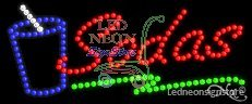 Sodas LED Sign (Led Sodas Sign)