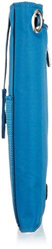 Big skinny da donna con tecnologia RFID Plus taglia Myphone bi-fold Slim in pelle, può contenere fino a 20carte, colore: Blu oceano