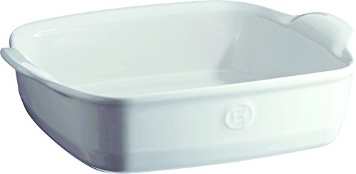 Emile Henry France Ovenware Ultime Square Baking Dish, Flour - Square Deep Baking Dish