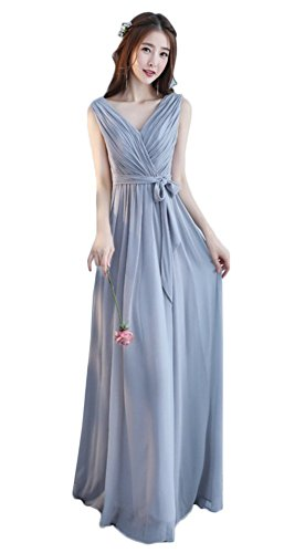 Dress Elegant Evening Chiffon Bandeau Styles Blue Different ...