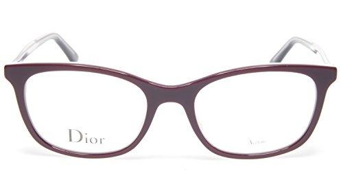NEW Christian Dior MONTAIGNE n.18 MVS BURGUNDY EYEGLASSES 50-18-145 B37mm Italy - New Dior Glasses