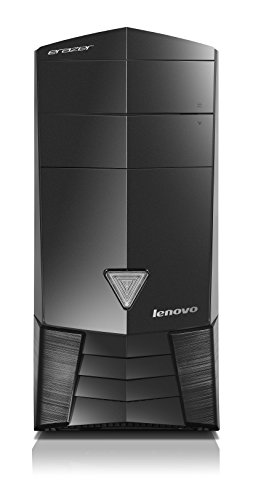 Lenovo Erazer X315 Gaming Desktop (AMD A8, 8 GB RAM, 1TB HDD + 8 GB SSD, AMD Radeon R9, Windows 10) 90AY000WUS