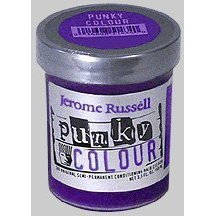 Punky Violet Semi Permanent Conditioning Hair Color, Vegan, PPD and Paraben Free, lasts up to 25 washes, 3.5oz]()