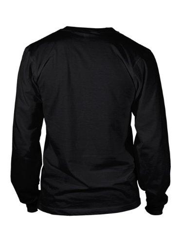 I Love Conrad Montana USA City Long Sleeve T-Shirt Tee Top Black L
