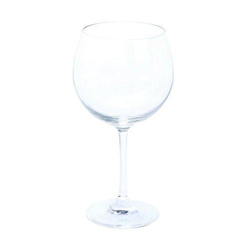 confezione da 2 Bar Amigos/® calici da gin and tonic lavabile in lavastoviglie 650 ml cristallo senza piombo bicchieri baloon