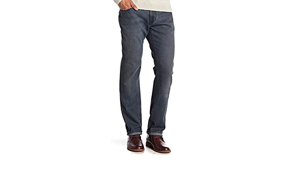 John Varvatos Star USA Men/'s Authentic Classic Straight Jeans Denim Medium Blue
