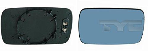 Side Mirror Glass Flat Heatable Left=Right Fits BMW E46 E39 Sedan 1995-2005