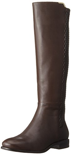 Cole Haan Women's Rockland Boot Riding Boot, Chestnut Leather, 9 B US by Cole Haan