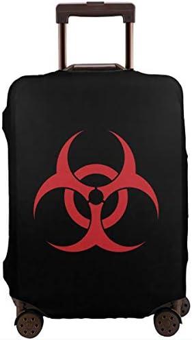 スーツケースカバー キャリーカバー バイオハザード ラゲッジカバー トランクカバー 伸縮素材 かわいい 洗える トラベルダストカバー 荷物カバー 保護カバー 旅行 おしゃれ S M L XL 傷防止 防塵カバー 1枚