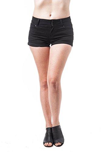 Khanomak - Pantalón corto deportivo - para mujer negro