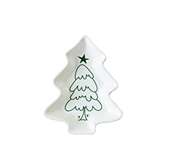Christmas Tree In The Desert.Amazon Com Shuangklei Christmas Tree Dinner Plates Ceramic