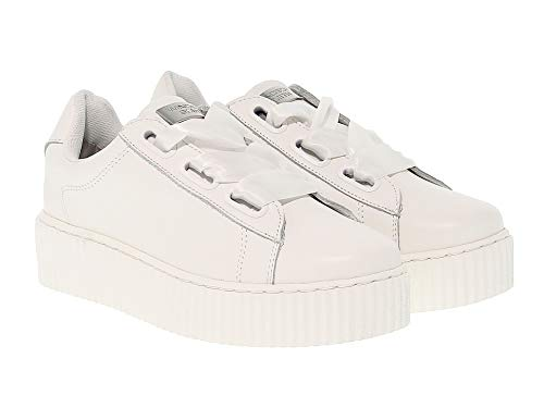 Smith Donna Pelle Windsor Bianco Windolyviawhite Sneakers 4OxEw0