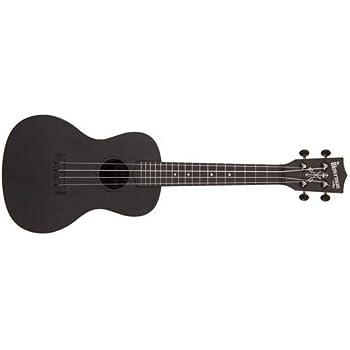 kala makala waterman concert ukulele chalkboard black musical instruments. Black Bedroom Furniture Sets. Home Design Ideas