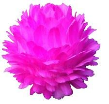 Centerpiece Feather Ball Large Wedding Ball Kissing Ball 16 inches Hot Pink ()