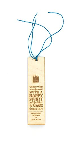 - LDS Inspirational Quote Bookmark -