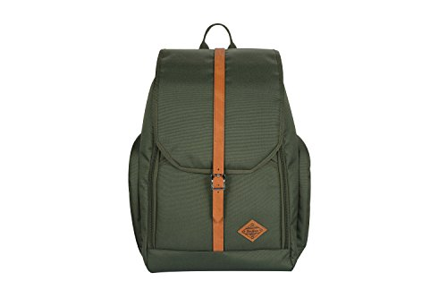 (JuneHouse MM laptop dayuse backpack Hunter Green )