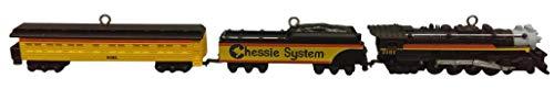 """Hallmark 2012""""Lionel Chessie Steam Special Miniature Ornament Set"""