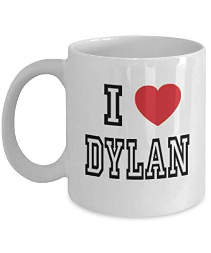 11oz I Love Dylan Mug Lover Gift Coffee Funny Idea Tea Cup Cute Ceramic Present Gag,al2928]()