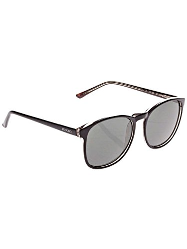 Komono Urkel Sunglasses Black-Chameleon/Solid Smoke, One - Chameleon Sunglasses